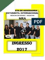 1 - Medicina Na Argentina - Ingresso 2017