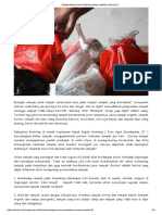 Pembuangan Dan Pengolahan Sampah Pelastik