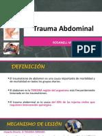 Trauma Abdominal- Rosanell Vasquez