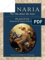 [Plautus] Asinaria the One About the Asses