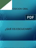 La Exposicion Oral