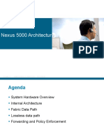 Nexus 5000 Architecture