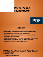 world trade agreements powerpoint