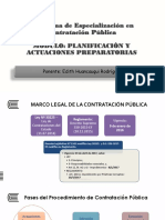 Planificacion y Actuaciones Preparatorias