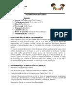 Informe de Ev Maria Esperanza Rojo