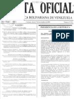20011109, DRVF Ley de La Función Estadística - Reforma