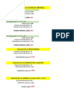 Formula Calculo Dureza Brinell