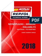 Formulas Manual Dallara f3