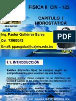 Cap I Hidrostática