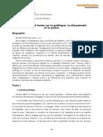 Aristote | Textes sur la citoyenneté et la justice (Anthologie).pdf