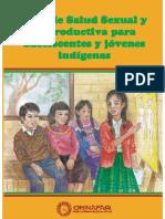 Guía de Salud Sexual y Reproductiva para Adolescentes y Jóvenes Indígenas