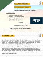 Etapas de Evaluación Económica de Un Proyecto Minero