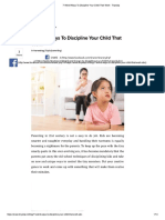 7 Weird Ways to Discipline Your Child That Work - Tinystep