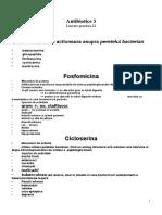 Lucrare Practica 23 - Antibiotice 3