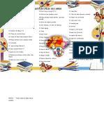 lista de utiles inicial