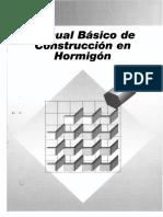 Manual Basico de Construccion en Hormigon
