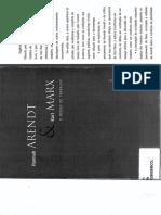 Hannah Arendt e Kal Marx