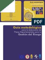 Guia Elaboracion Plan Departamental Gestion Del Riesgo