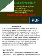 Scisor Jack Presentation