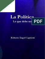 Capriotti La Politica