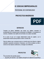 Proyectos Inversion