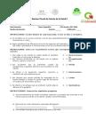 Examen ciencias de la salud 2