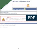 Cabeça Do Motor Extracção -Reposição