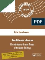 Hosbawn - Tradiciones obreras. El nacimiento de una fiesta