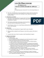Rules of Procedure w Ordinances