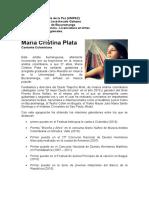 Biografia Maria Cristina Plata