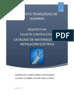 Catálogo de Materiales Eléctricos
