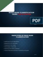 Rock Mass Classification - Qsystem