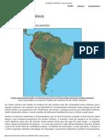 Os Andes Centrais _ Tempo Ameríndio