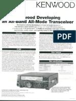 Kenwood TM-2000 Preliminary Information