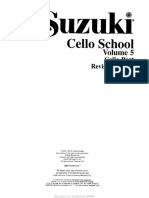 Cello- Suzuki - Cello School Volume 5