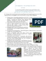 Grace Church Highlands Annual Report 2018