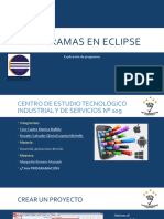 Programas en Eclipse
