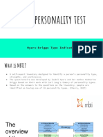 mbti personality test