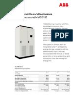 MGS100 Technical Datasheet Final Rev-A ABB