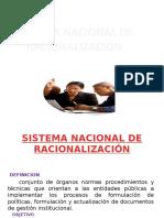 Sistema Nacional de Racionalización