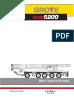 MANUAL DE MANTENIMIENTO GROVE GMK5200