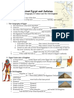 egypt geography culture  old kingdom notes handout 1