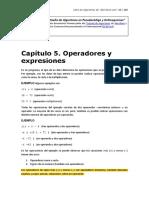 5Operadores y Expresiones - Capítulo 5 Del Libro de Algoritmos de Abrirllave.com