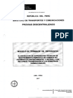 Tdr Elaboracion Exp Tecnicos Mant Periodico Gl Gore 2017