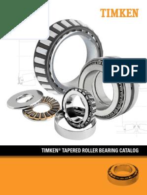 Catalogo de Roles Conicos Timken pdf   Bearing (Mechanical