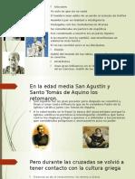 Tres Filósofos Muy Importantes en La Época Antigua