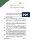 Regulacion No ARCONEL 003 15