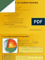 10.-Corteza terrestre, geosfera, ciencias naturales