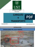 Parámetros de diseño caminos mineros.