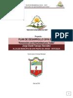 Plan de Desarrollo Municipal 2015